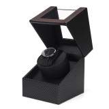 Automatic Watch Winder Carbon Fiber Jewelry Storage Case Watch Winder Display Box