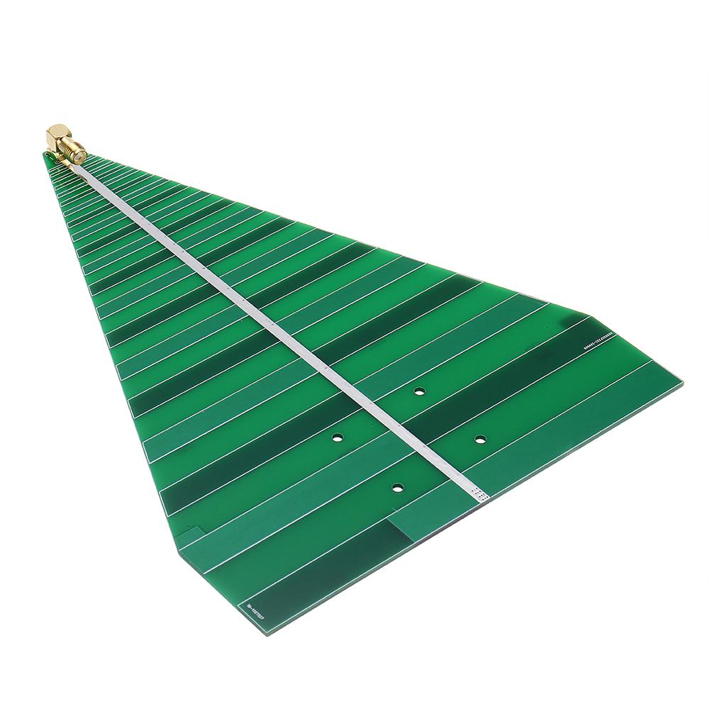 UWB Log Periodic Antenna 740-6000MHz Ultra Wideband Logperiodic Antenna Board