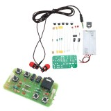 EQKIT DIY Radio FM Stereo Radio Kit Simple Radio Parts Radio Practice Kit