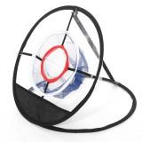 Golf Chipping Net Folding Mini Golf Training Net Swing Pitching Net Outdoor Sport with Golf Mat