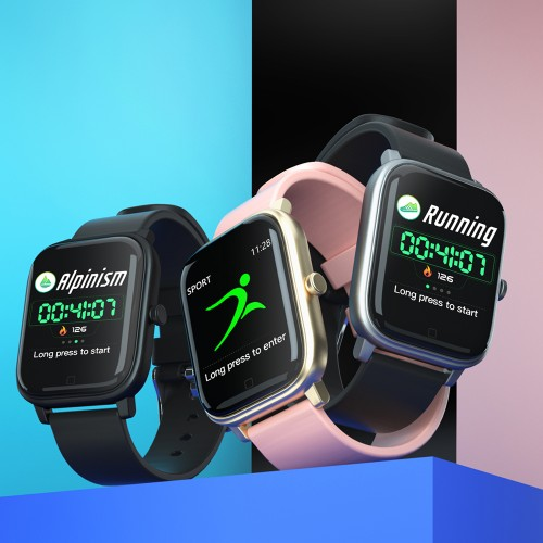 Bakeey S1 Fashion Big Number Display Multi-sport Modes Alarm Clock Waterproof Smart Watch