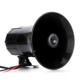 400W Warning Alarm Police Fire Siren Horn PA Speaker MIC System 3 Sound Loud