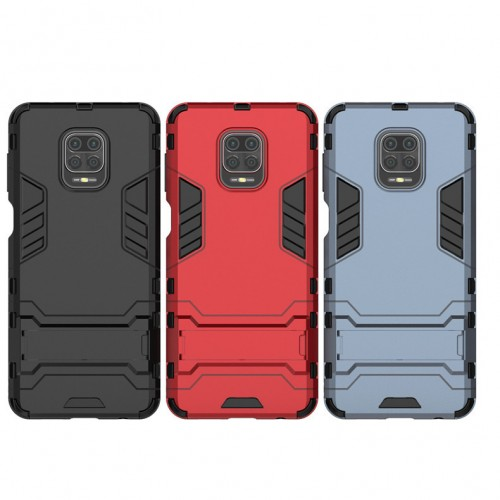 Bakeey Armor Shockproof with Stand Holder Protective Case for Xiaomi Redmi Note 9S / Redmi Note 9 Pro / Redmi Note 9 Pro Max