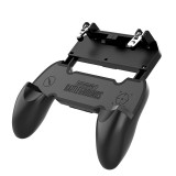 DATA FROG S6-W10 PUBG Game Controller Gamepad Trigger Shooter for PUBG Mobile Game with Foldable Phone Holder for Android iOS Phones