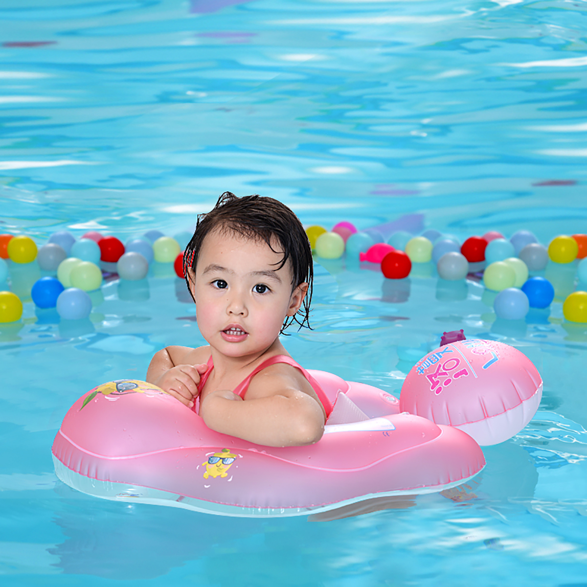 PVC Inflatable Swimming Ring Baby Summer Water Play Floats Toys Swimming Pool Accessories