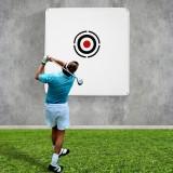 1.5M X 1.5M Golf Target Cloth Swing Hitting Cloth Stroke Practice Driving Range Golf Pitch Target Golf Golf Pitching Practice Training Net