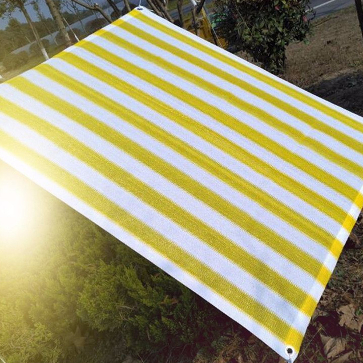 Anti UV Sun Shade Sail Awning Canopy Balcony Cloth Cover Outdoor Garden