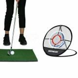 Golf Chipping Practice Net Folding Golf Training Net Sport Golf Cages Net With Turf Golf Training Net