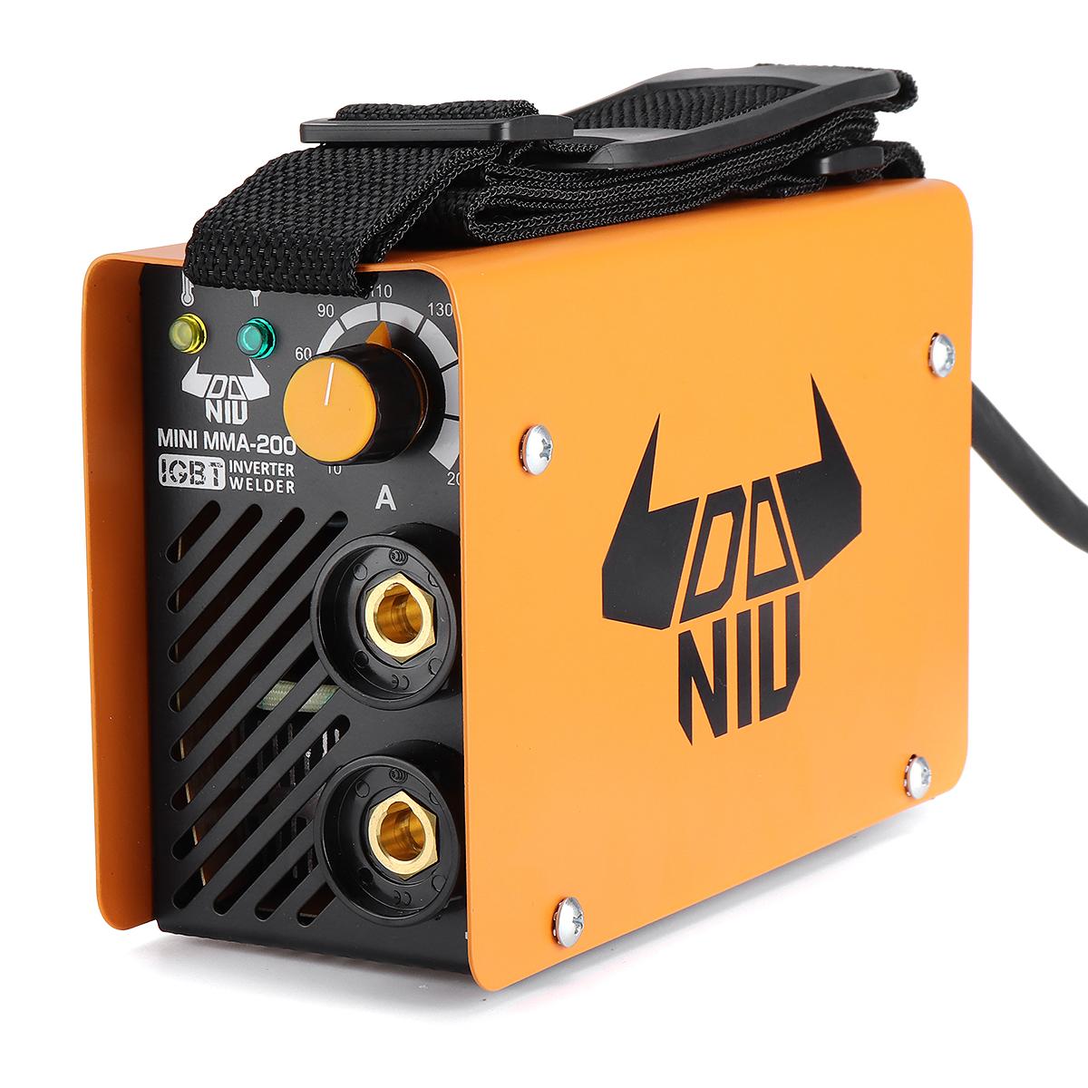 DANIU MINI MMA-200 EU Plug AC230V 200A Portable IGBT DC MMA Inverter Arc Electric Welding Machine