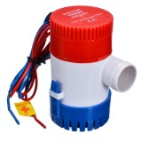 12V/24V Electric Pump 1100GPH Marine Bilge Pump Submersible Boat Water Pump