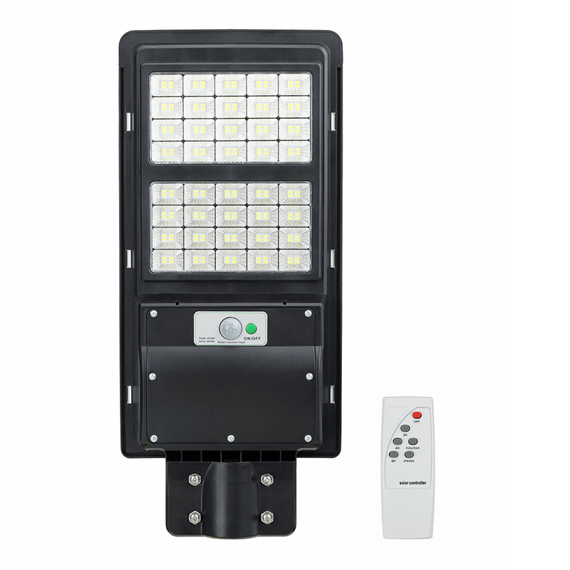 80/120/160 LED Solar Power LED Street Light Radar PIR Motion Sensor Wall Lamp