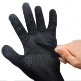 5 Pairs Of 5 Level Anti-Cutting Gloves Stainless Steel Wire Safety Work Hands Protector Cut Proof