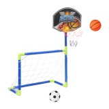 Ball Football Sport Toy Game Goals Basketball Hoop Stand Toys Kids Sports Game