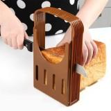 Practical Kitchen Bread Loaf Toast Slicer Cutter Maker Mold Guide Slicing Tools