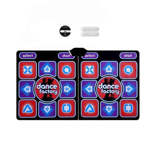 Wireless Dancing Mat Pad Blanket Computer TV Slimming Blanket With Two 2.4G Gamepad Standard Version