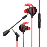 Bakeey G6 Noise Cancelling 3D Stereo In-ear Wired Control Earphone Headset Bass Gaming Earbuds with Dual mic for iPad huawei Xiaomi