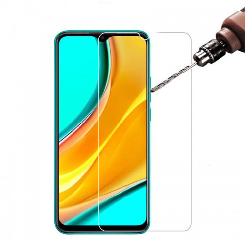 Bakeey HD 9H Anti-explosion Anti-scratch Tempered Glass Screen Protector for Xiaomi Redmi 9