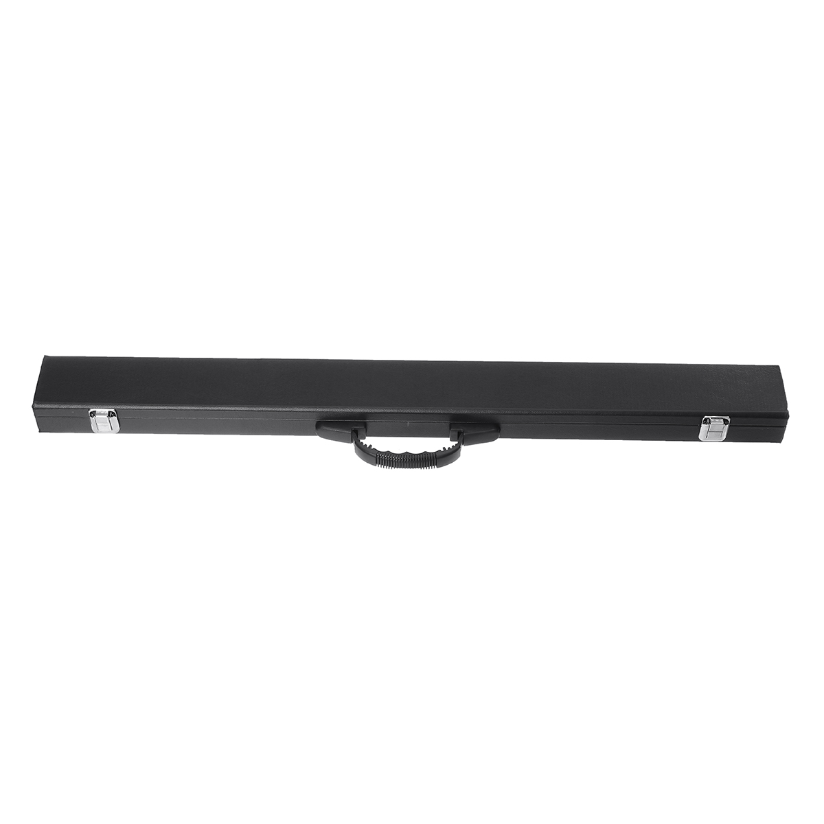 "1/2"" Pool Cue Hard Case For Pool Snooker Billiard Box 85cm/33.5 PU Leather Black"