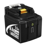 LED Light MAK-14.4B-Li 9.0Ah Power Tool Replacement Battery 14.4V Tool For Makita BL1430 BL1440