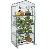 4-Tier Portable Greenhouse PVC Cover Plant Garden Green House Cover