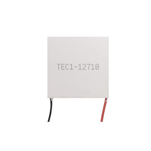 TEC1-12710 40*40MM Semiconductor Refrigeration Chip High Power 12V10A Constant Temperature