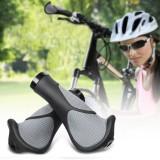 BIKIGHT 1 Pair Bike Handlebar Grips Waterproof Non-Slip 140mm Length Bicycle Grips