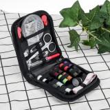 68PCS Sewing Set Thread Roll Scissor Tape Pin Thimble Hand Sewing Needle Kit