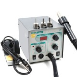 Quick 706W+ 2 In 1 SMD BGA Rework Station Hot Air Spear Desoldering Station for Phone Repair Welding Tool