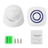 Wireless Infrared Motion Sensor Door Security Bell Alarm Chime Entrance Alert Doorbell