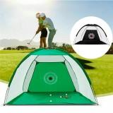 1/2/3m Golf Practice Net Golf Swing Net Sport Aids Trainer Net Indoor Outdoor with Storage Bag