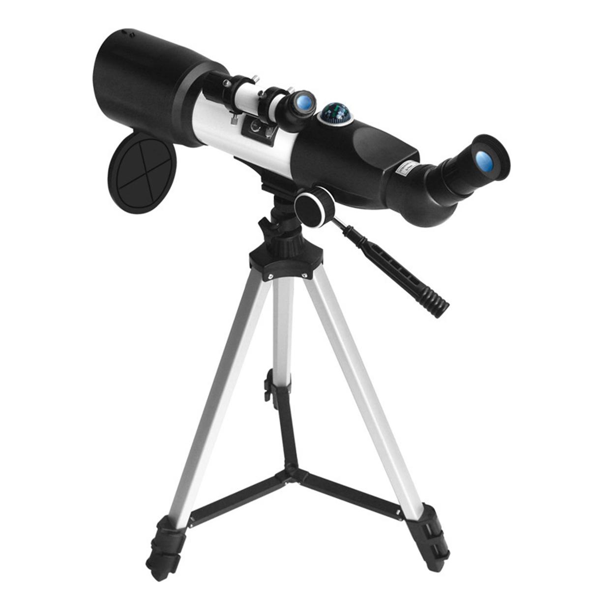 Professional 14X-117X Astronomical Telescope 350m Focal Length 360 Rotation Monocular Students Children's Scientific Experiment