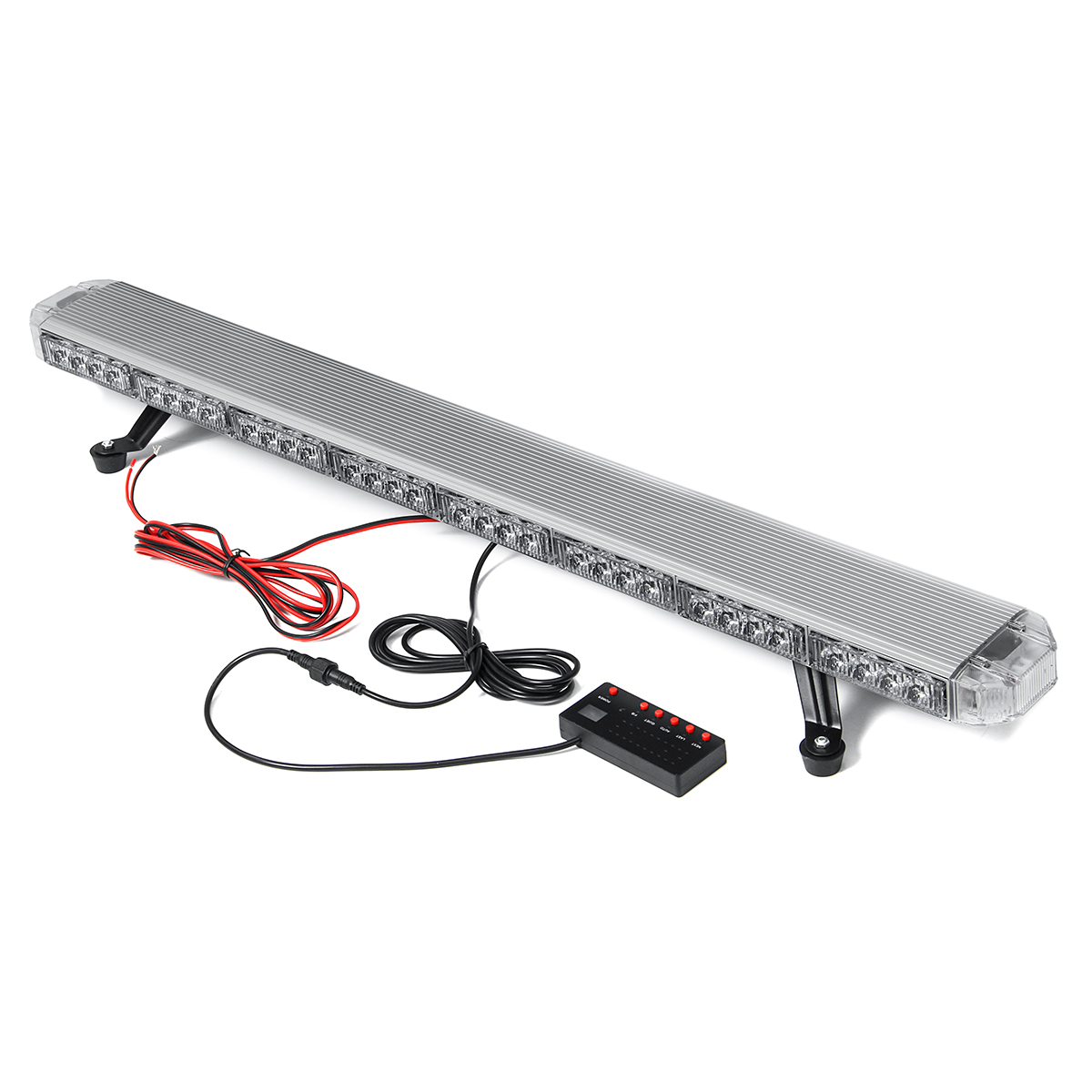 "41"" 210W LED 12V 24V Truck Car Strobe Light Light Bar Led Bar Flashing Beacon Light Roof Emergency Warning Lamps 21 Modes"