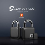 L3 Smart Keyless TUYA APP Fingerprint Padlock Usb Rechargeable Anti-Theft Security Lock Ip65 Waterproof Door Luggage Case Lock
