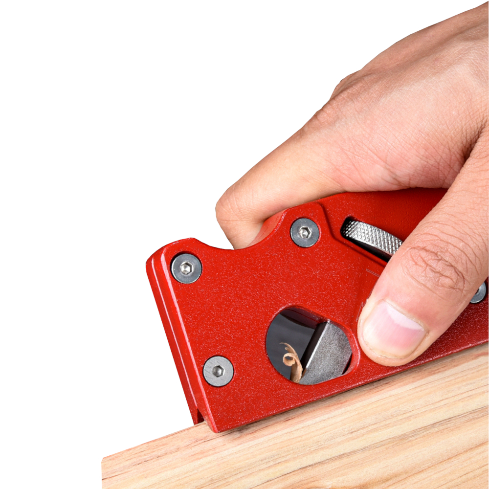 Drillpro Woodworking Hand Shoulder Plane with Metal - Gypsum Board Edge Planing Quick Edge Trimming Wooden Chisel Plane Tools