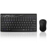 Rapoo 8000T Multi-Mode Wireless Keyboard & Mouse Set bluetooth 3.0/4.0/2.4G 78 Keys Keyboard 1300DPI Mouse Home Office Business Keyboard Mouse Combo
