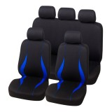 9PCS 5 Seat Universal Car Seat Cover Breathable Comfortable Auto Seat Cushion Pad