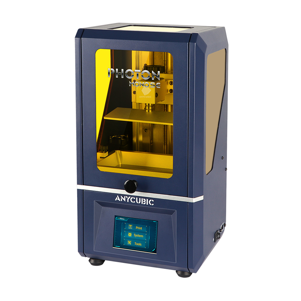 Anycubic Photon Mono SE LCD SLA UV Resin 3D Printer 130x78x160mm Build Volume With APP Remote Control/ 14x Printing Speed/ Metal Frame/ Easy Bed Leveling