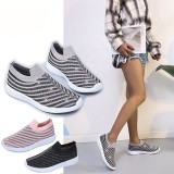 Women Loafers Crystal Bright Sneakers Sock Shoes Anti-slip Mesh Breathable Running Shoes Outdoor Hiking