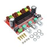 XH-M139 TPA3116D2 2x 80W +100W 2.1 Channel Digital Subwoofer Power Amplifier Board TPA3116*2 3 Channels DC 12-24V