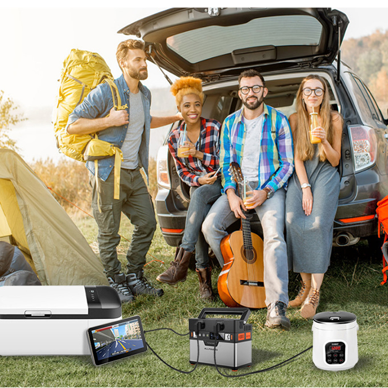 ALLPOWERS AP-SS-005 220V 300W Portable Power Station 372Wh/100500mAh Emergency Power Supply Wireless Output Outdoor Camping Portable Power Bank