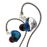 TRN Wired Earphone 1DD 1BA In Ear Earphone HIFI DJ Monitor Running Sport Earplug Replaceable Filter Headset With Mic