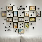 12 Pcs/set Photo Frames 6/7/8/10-inch Wall Hanging Family Memory Art Picture Photo Home Office Hotel Wall Decoration