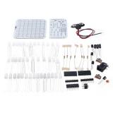 DIY Simple LED Dot Matrix Display/Three-color Breathing Light LED Display Kit/DIY Character Display Parts