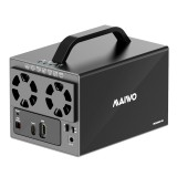 """MAIWO Hard Disk Docking Station 4 Bays 3.5"""" Type-C RAID HDD SSD Cabinet Data Management 7 RAID Mode Suoport 64TB Max 5Gbps with HD Function"""