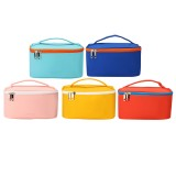 High Capacity Portable Cosmetic Bag PU Pencil Stationery Supplies Storage Bag School Home Office Supplies