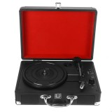 Phonograph Turntables Vinyl Record Player USB Bluetooth Stereo Speaker Record Player