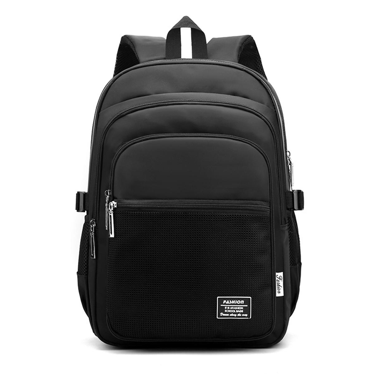 Kids Nylon School Bags Large Capacity School Student Backpack Multifunctional Shoulder Backpack Stationery