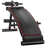 Folding Sit Up Abdominal Bench Multifunction Muscle Training Board Dumbbell Stool Gym Fitness Equipments