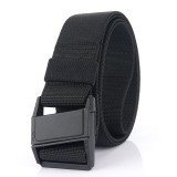 AWMN Nylon 125×3.8cm Tactical Belt Magnetic Buckle Heavy-Duty Quick-Release Belt