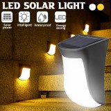 Solar Powered LED Deck Lights Outdoor Path Garden Pathway Stairs Step Way Fence Lamp